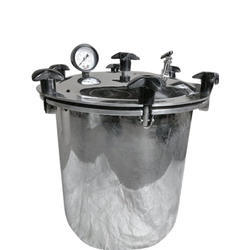 Single Tray Stainless Steel Vertical Autoclaves