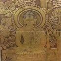 Buddha Metal Wall Cladding