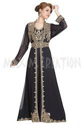 Attractive Dubai Kaftan Dress For Saudi Arabia