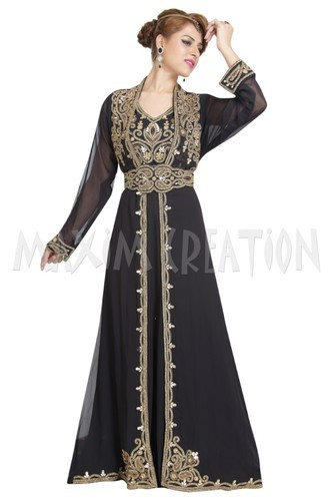 Attractive Dubai Kaftan Dress For Saudi Arabia 6171 At Rs 3500