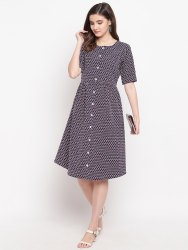 Spendex navy blue Dress