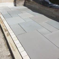 Kandla Grey Sandstone Flooring Tiles