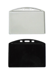 Double Sided Pasting ID Card Holder