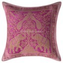 Elephant Peacock Pillow Cushion Covers Throw