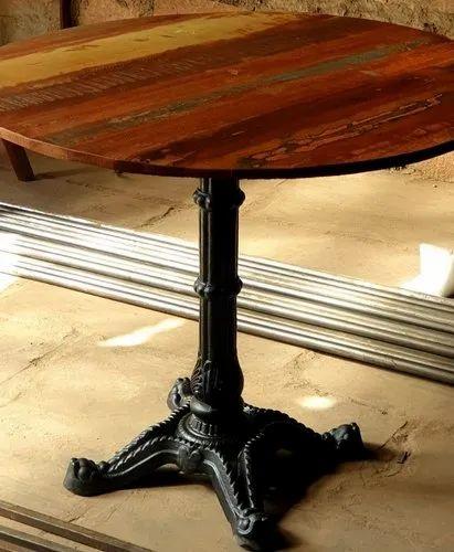 Wrought Iron Round Table.Iron Round Table