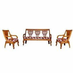 The Maark Wooden Sofa
