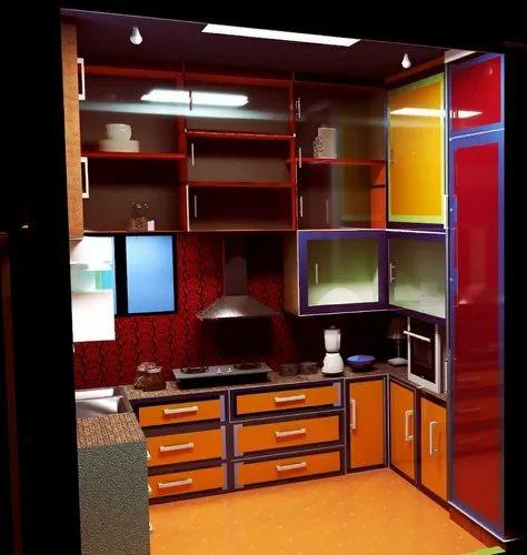Classic Modular Kitchen Designing, Work Provided: Wood Work & Furniture