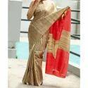 Ladies Tussar Ghicha Silk Saree