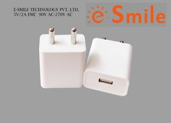 2 Amp White BIS Certified Smart Traveling Charger