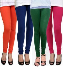 Cotton Plain Lycra Leggings