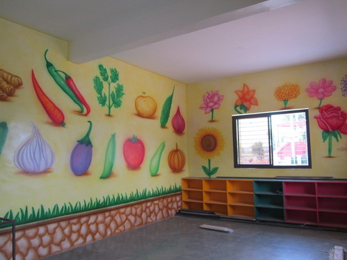 Nursery Class Wall Decoration Art Service In Sukhliya Indore Pal Arts Id 15803021697