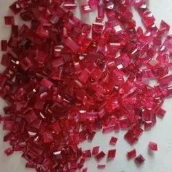 Square Ruby Gemstone