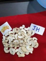cashew kernels JH, Grade: White spilit, Loose