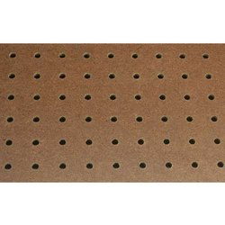 Perforated Hardboard ( Pegboard), Thickness: 4mm