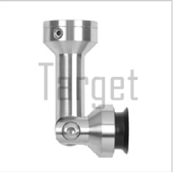 Point Connector- Point Fixed Glass 900 Connector (One Side Adjustable)