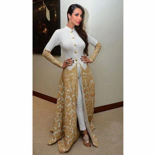 Ladies Designer Front Cut Kurti