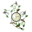 Iron Painted Butterfly Watch Panel