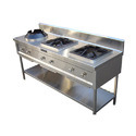 3 Stove SS Commercial Gas Burner