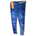 Blue Female Ladies Jeans