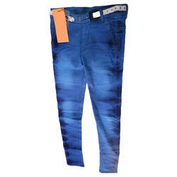 Blue Female Ladies Jeans