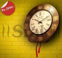Ceramic Srak Wall Clock, Packaging Type: Box