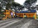 Mini Concrete Batching Plant, Capacity: 25 Cu.m/hr And 30 Cu.m/hr
