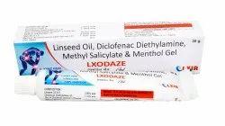 Linseed Oil Diclofenac Diethylamine Methyl Salicylate Menthol Gel