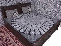 Black & White Badmadi Duvet Cover