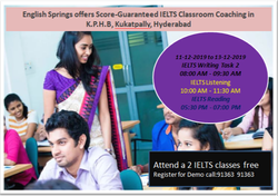 Score-Guaranteed IELTS Coaching in Kukatpally