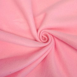 Plain Pink Terry Fabric for Home Furnishing, GSM: 120-350
