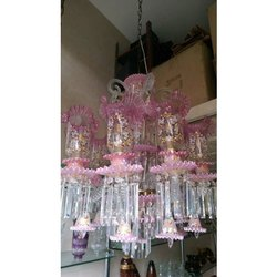 Acrylic Roof Mounted Modern Crystal Hanging Chandelier for Decoration
