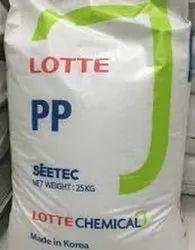 Titan Natural LOTTE PP PD701 Lamination Granules, Packaging Size: 25 Kg