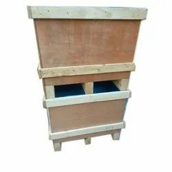 Rectangular Pinewood Wooden Pallets Box, For Packaging, Capacity: 50 Kg