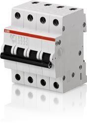 ABB SH204M-D6A To D32A Miniature Circuit Breaker(MCB)