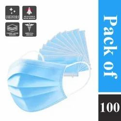 Izro Disposable 3 Ply Surgical Face