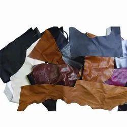 Semi Chrome Scrap Leather