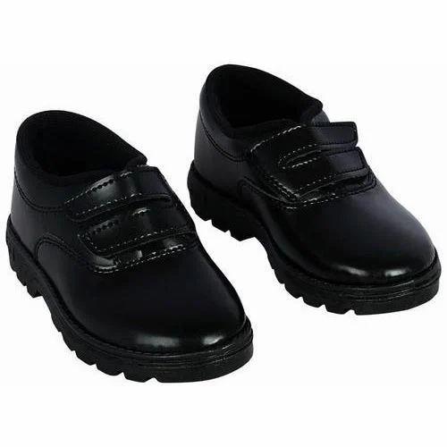 Kadia Kids School Canvas Black Shoes