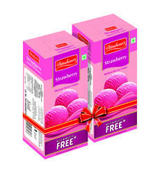 Dinshaw''''s Strawberry Ice Cream Family Packs (700 700 Ml) For Home Purpose, Packaging Type: Carton