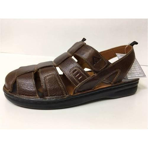 4bb676c3cb5fc Casual Brown Mens Sandals, Size: 6 To 10, Rs 700 /pair, Vetiyapuri ...
