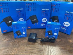 Black Travel Jio Mobile Chargers