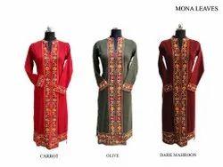 WOOLLEN Party Wear woolen kurti, Wash Care: Machine wash