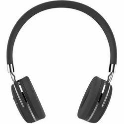 Black Portronics Muffs Plus Headphone, 2 Hour