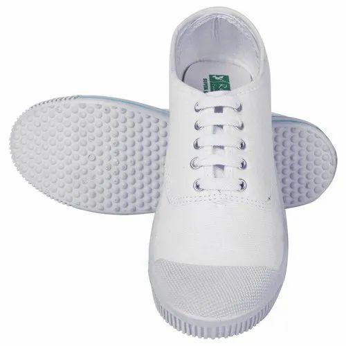 Rnt White Tennis \u0026 Canvas Shoes, Rs 96