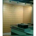 Slat wall display unit