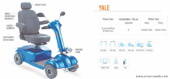 YALE Power Wheel Chair