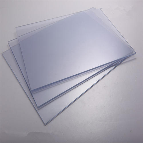Glossy Plain Transparent Pvc Sheet With Masking Rs 10