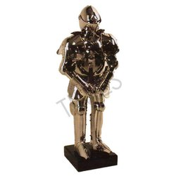 Polished Wood Decorative Armour