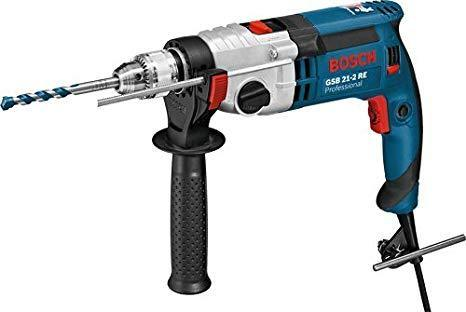 Bosch GSB 21-2 RE Impact Drill,  No Load Speed: 0-900 / 3000 Rpm