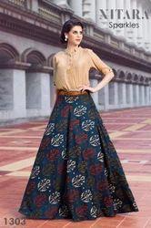 Nitara-Sparkles-Printed-Skirts