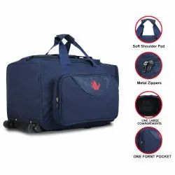 ANVA Polyester Travel Bag with Trolley